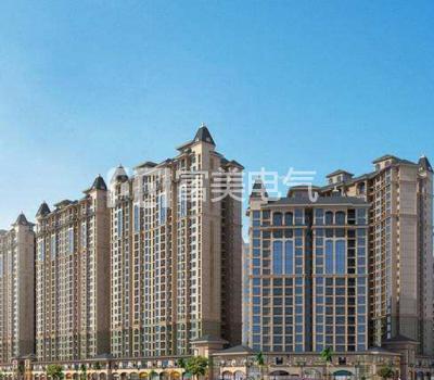 广西横县太阳城5、8、9号楼母线项目